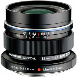 Olympus EW-M1220 ED 12 мм 1:2.0 Black Limited Edition