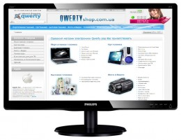 Philips 200V4LSB/00 Black