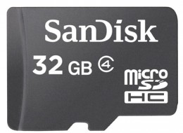 Sandisk microSDHC 32 GB Class 4 SDSDQM-032G-B35