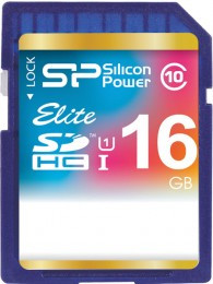Silicon Power SDHC 16 GB Class 10 UHS-I Elite SP016GBSDHAU1V10
