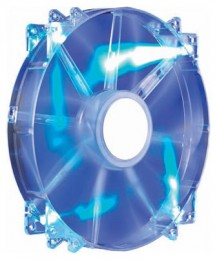 COOLERMASTER MegaFlow 200мм Blue LED Silent Fan R4-LUS-07AB-GP