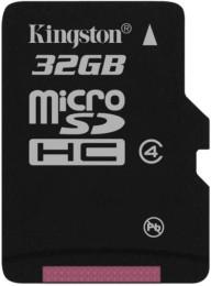 Kingston microSD 32 GB Class 4 SDC4/32GBSP
