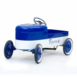 Pedal Car Riverside Blue/White. 1930