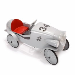 Pedal Car Grey Race Car. 1924G