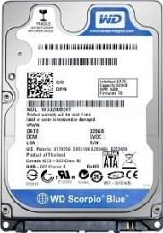 WD Scorpio Blue HDD 2.5 1TB (WD10JPVX)
