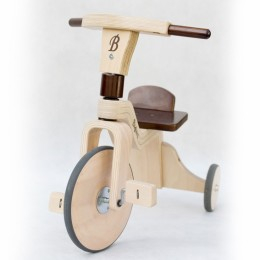 Wooden tricycle. 703