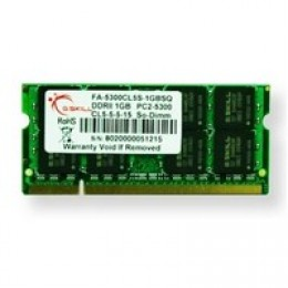 SoDIMM G.Skill 2GB DDR2 667 MHz (FA-5300CL5S-2GBSQ)