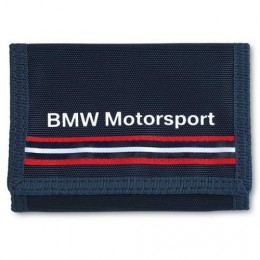 Кошелек BMW New Motorsport Wallet Blue (80212318271)