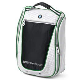 Сумка для обуви BMW Golf Shoe Bag White Black 2013  80 22 2 333 799