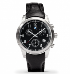 Мужские наручные часы BMW Quartz Chrono Men's Watch with Leather Strap 80 26 2 179 744
