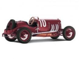 Mercedes 2-l Targa Florio Racing Car, 1924, dark red. Manufacturer: CMC. Scale 1:18  B66040389
