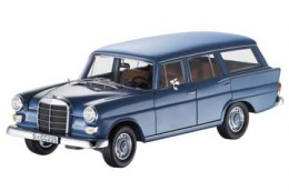 Модель 190/200 D Universal, W 110, 1965–1968 гг. синий, Norev, 1:18 Mercedes-Benz B66040592