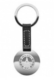 Брелок Mercedes-Benz Key chains, black leather 2012 B66043441