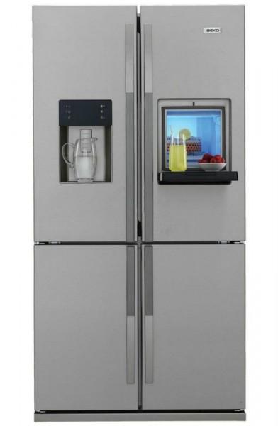 Четырехдверный холодильник Beko