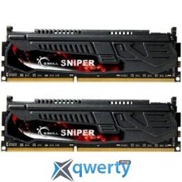 8GB DDR3 (2x4Gb) 2400 MHz G.Skill Sniper (F3-2400C11D-8GSR)