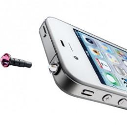 Аксессуары Crystal iPhone & Smartphone (3,5mm) Pink, Transp (CRYSTALMOBILETP)