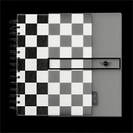 Записная книжка Mini Chequered Notebook 80 57 0 443 314