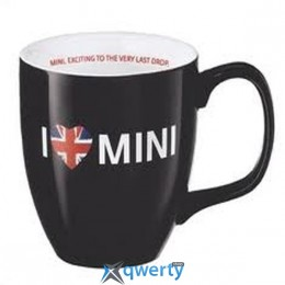 Чашка I Love Mini Mug Black (80232210998)