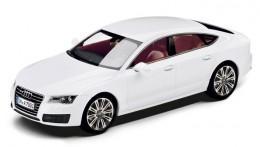модель A7 Sportback, 1:43, Ibis white 5011007013