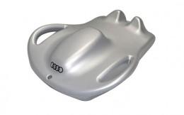 Санки ледянка Audi Audi Snow sledge, Silver 3201101800