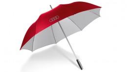 Большой зонт-трость Audi Large umbrella red, 2013 3121200300