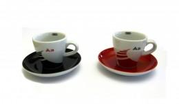 Набор из двух кофейных чашек с блюдцами Audi A3 Espresso cups set 3291201300