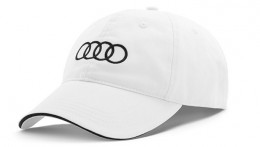 Бейсболка Audi Baseball cap, unisex, White 3131203501