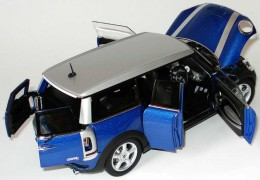 Модель автомобиля Mini Clubman Cooper S Lightning Blue 80 42 0 421 045
