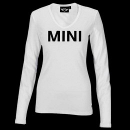 Женская майка Mini Ladies' Wordmark Longsleeve, White 80 14 2 152 697