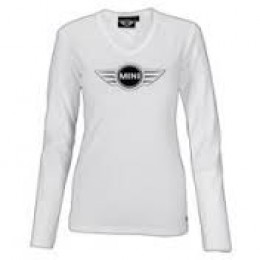 Женская майка Mini Ladies' Logo Longsleeve, White 80 14 2 152 707