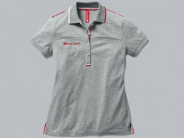 Женская футболка Audi Sport Wome's Polo Shirt Grey 3131202133