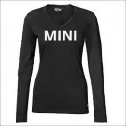 Женская майка Mini Ladies' Wordmark Longsleeve, Black 80 14 2 152 688