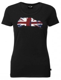 Женская футболка Mini Ladies Britcar T-Shirt, Black 80 14 2 211 303