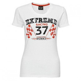 Женская футболка Mini Ladies Racing T-Shirt, White 80 14 2 211 278