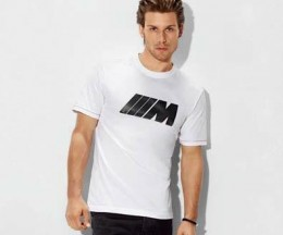 Мужская футболка BMW M Herren T-Shirt mit Carbon Applikation 2013 80 14 2 297 233