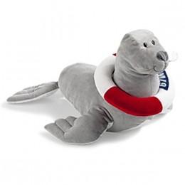 Мягкая игрушка морской лев Пауль BMW Paul The Sea Lion, Big, Grey 80 45 2 343 706