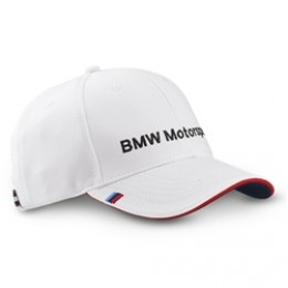 Бейсболка BMW New Motorsport Cap White 80 16 2 318 261