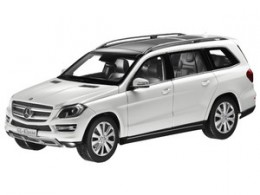 Модель Mercedes-Benz GL-Klasse, Offroader, White, Scale 1:18 B66960099