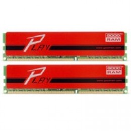 16GB DDR3 (2x8GB) 1600MHz GOODRAM Play Red (GYR1600D364L10/16GDC)