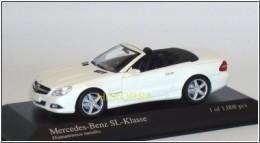 MERCEDES-BENZ SL-Class, R230, white, 1:32- B66962397