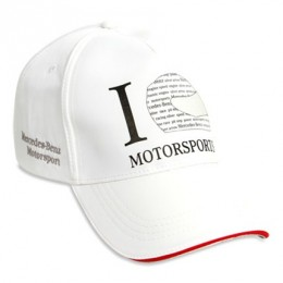 Бейсболка Mercedes-Benz Men's Motorsport Fashion Cap White (B66952800)