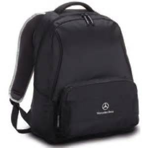 Mercedes benz backpack black 2012 b66957869 for Mercedes benz backpack