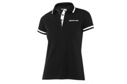 Женская футболка поло Mercedes Women's Basic Polo Shirt, AMG B66957750