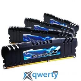 32GB DDR3 (4x8GB) 2400 MHz G.Skill Ripjaws Z (F3-19200CL10Q-32GBZHD)