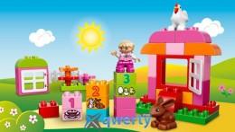 Lego Лучшие друзья: курочка и кролик (10571)