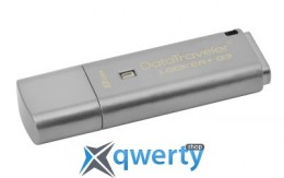 Kingston 8GB USB 3.0 DT Locker+ G3 w/Automatic Data Security (DTLPG3/8GB)