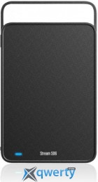 Silicon Power Stream S06 3TB SP030TBEHDS06C3K USB 3.0 External Black