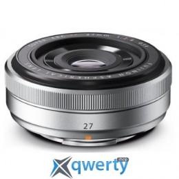Fujifilm XF 27mm F2.8 Silver (16401581) Официальная гарантия!