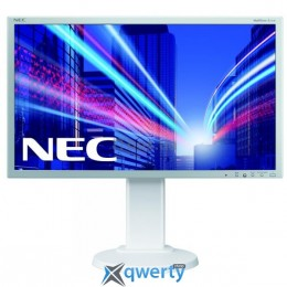 24 NEC MultiSync E243WMi White