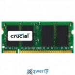 8Gb SO-DIMM DDR3 (2x4GB) 1333 MHz Crucial (CT8G3S1339MCEU)
